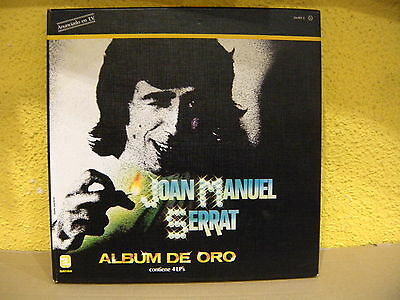 Joan Manuel Serrat ‎– album De Oro ' 4 X LP BOX MINT