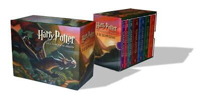 Harry Potter Paperback Boxed Set: Books #1-7 by J.K. Rowling (English) Free Ship