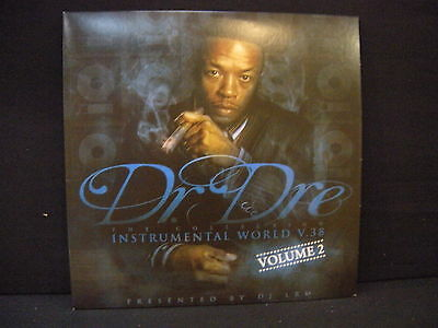 Dr. Dre ‎– Instrumental World VOL . 38 VOLUME 2  ' 2 X LP MINT