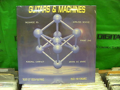 Various ‎– Guitars & Machines ' 2 X LP MINT - Aroma Di Amore / Polar Praxis
