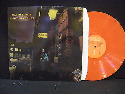 David Bowie – Rise And Fall Of Ziggy Stardust And The Spiders ' LP MINT ORANGE