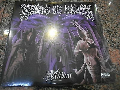 Cradle of Filth ‎– Midian  ' 2 X LP MINT & SEALED