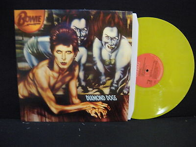 David Bowie ‎– Diamond Dogs ' LP MINT YL 13889  YELLOW LIMITED