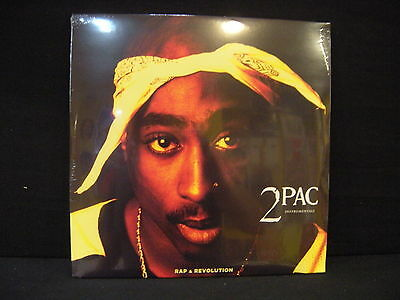 2Pac Instrumentals ‎– Rap & Revolution ' 2 X LP MINT & SEALED