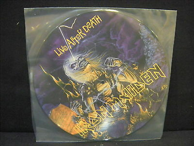 Iron Maiden ‎– Live After Death ' LP MINT PICTURE