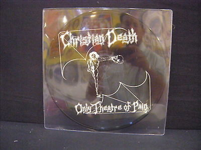 Christian Death ‎– Only Theatre Of Pain ' LP MINT PICTURE