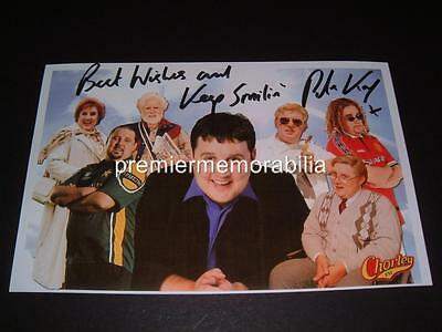 Peter Kay Signed Phoenix Nights Max & Paddy Characters