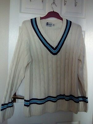 Gun&Moore william qumm cricket jumper size M gc