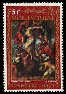 """MONTSERRAT 256 (SG268) - Easter """"Descent from the Cross"""" (pa45621)"""