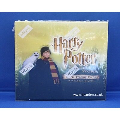 Harry Potter and the Sorcerer's Stone Trading Cards Sealed Box