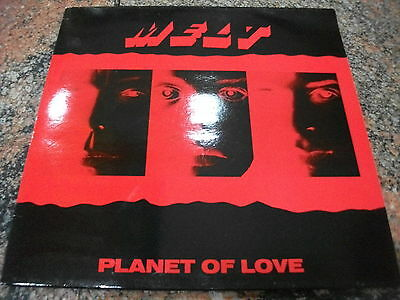 Melt  ‎– Planet Of Love ' LP  MINT INDUSTRIAL GOTH - HARD TO FIND