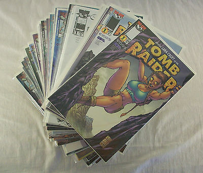 Tomb Raider Lara Croft #0-19 + VARIANTS + EXTRAS Volume 1 Image 1999 (49 Comics)
