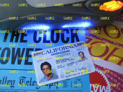 Back to the Future -Revamped  Marty McFly License - Prop - Cosplay - Novelty -
