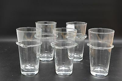 Set of 5 Glass Tumblers by Terence Conran for Royal Doulton, 15cms high  (SLD29)