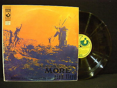 """Pink Floyd – Soundtrack From The Film """"More"""" ' LP N.MINT SPAIN PRESS 1974"""