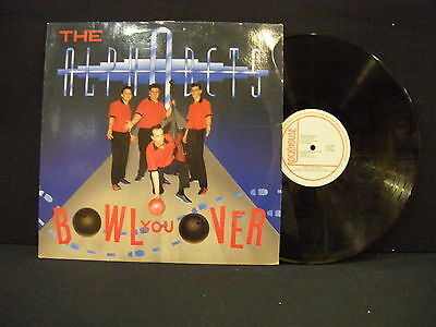 The Alphabets ‎– Bowl You Over ' LP VG++