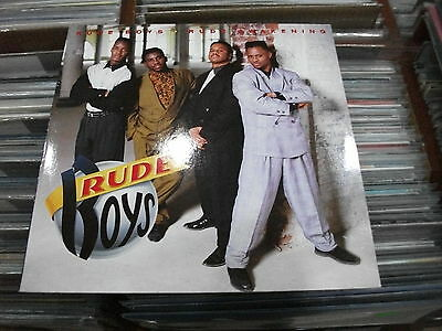 Rude Boys ‎– Rude Awakening ' LP'' MINT 1990