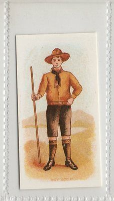 Boy Scout - Types Of Commonwealth Forces Reproduction Card