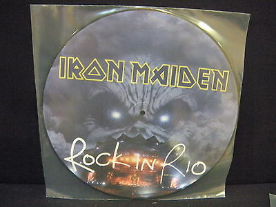 Iron Maiden ‎– Rock In Rio ' LP MINT PICTURE
