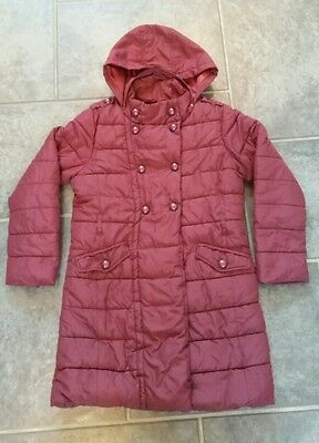 Girls Next Winter Coat Excellent Condition with hood 9-10yrs