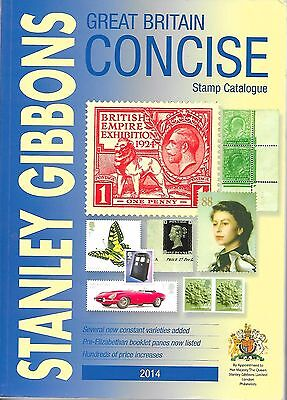 Stanley Gibbons Stamp Catalogue 2014: Great Britain Concise Gibbons, Stanley