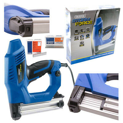 Draper Storm Force Electric Stapler/Nailer Kit with Extra Staples & Brad Nails