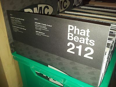 "Dmc Phat Beats Hip Hop & R&b Remixes 12"" Record Collection Lot New Old Stock Dj"