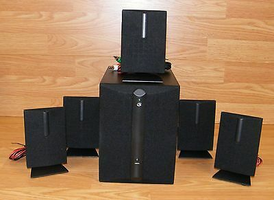 GENUINE GPX (HT8B) 8.8 Channel Home Theater 8 BLACK Subwoofer