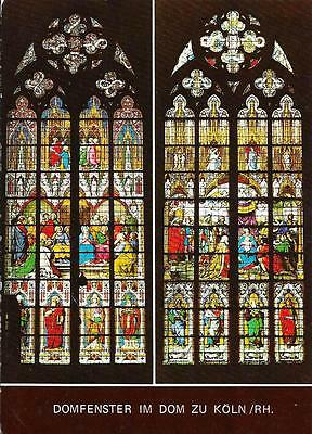 Cologne Cathedral Window - Unposted Postcard