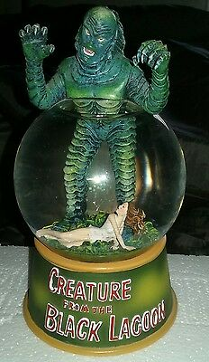 Creature From The Black Lagoon Classic Movie Posters Water Globe 2005!!!!