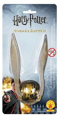 Harry Potter Toy GOLDEN WINGED SNITCH Hogwarts Quidditch Game Costume Accessory