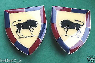 SOUTH AFRICAN ARMY COLLEGE BADGE / FLASH x 2 - SWATF SADF africa