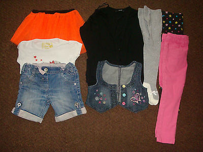 job lot of girls clothing ages 3-4/ 4-5 years