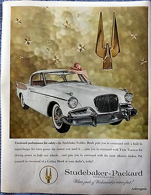 1957 Studebaker Packard Golden Hawk You In Command ad
