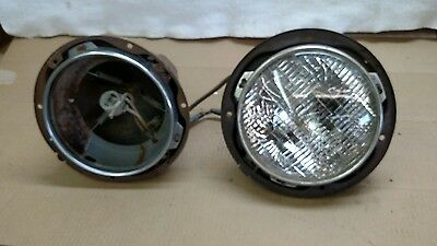 1941 Ford mounted headlights