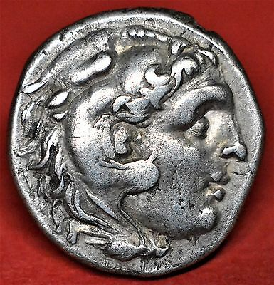 Superb Silver Drachm Of Alexander The Great Uncertain Mint, Stunning Condition