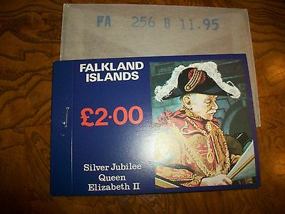 Falkland Islands Silver Jubilee Queen Elizabeth II L2.00 Stamp Booklet