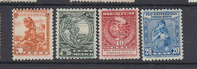 A very nice old mint group of Mexican 1934 issues