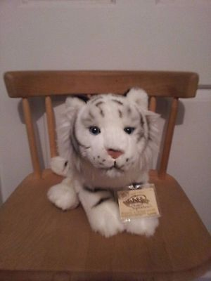 "Webkinz Signature White Bengal Tiger   ""new""  attached sealed code"