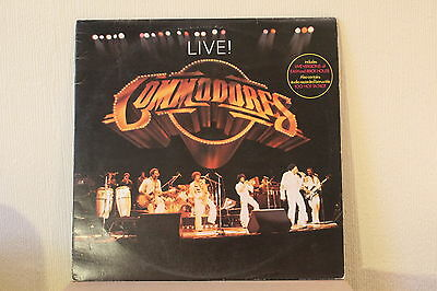 The Commodores Live 1977 Motown Double Lp Ex+