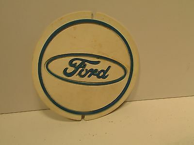 Vintage FORD Advertising Rubber Mat Dated 1974 Unusual Automobilia