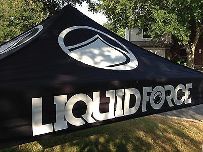 LIQUID FORCE WAKEBOARD E-Z UP Tent Top