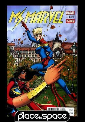 Ms. Marvel, Vol. 4 #13B - Divided We Stand Variant (Wk48)