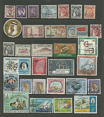 KUWAIT 31  Different  Collection of Early to Modern   used