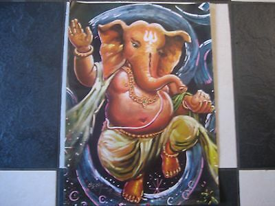 Lovely Poster Of Hindu God Lord Ganesh