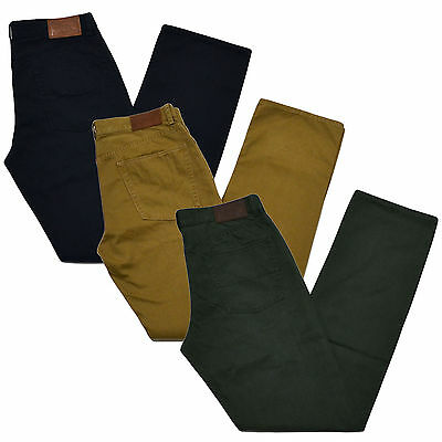 Polo Ralph Lauren Pants Mens Chino Straight Fit 5 Pocket Dungarees Logo New