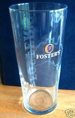 British / Uk - Fosters Lager Pint Beer Glass (2007).