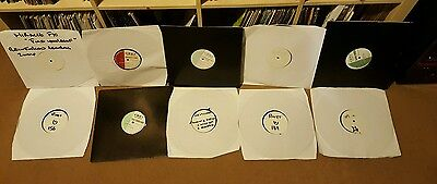 "COLLECTION OF 10x12"" REINFORCED VINYL/RECORDS - DRUM & BASS"