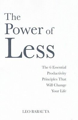 The Power of Less (Paperback), Babauta, Leo, 9781848501164