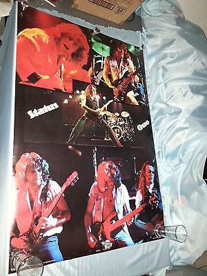 Vintage Status Quo  Poster - Rare 1979  Pace - Still Shrink Wrapped